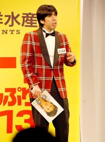 『R-1ぐらんぷり2013』東京3回戦に出場したWコロン・ねづっち (C)ORICON DD inc.