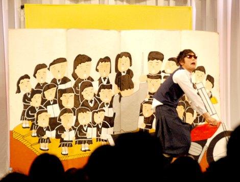 『R-1ぐらんぷり2013』東京3回戦に出場したもう中学生 (C)ORICON DD inc.