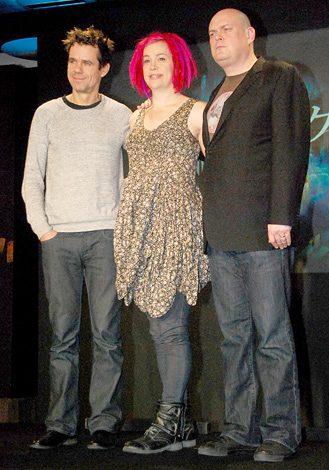 映画『クラウド アトラス』の来日記者会見に出席した(左から)トム・ティクヴァ、ラナ・ウォシャウスキー、アンディ・ウォシャウスキー (C)ORICON DD inc.