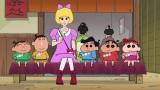 江戸時代にピンクの黒船で来航し、つけまつげを伝来するという奇想天外なストーリー(C)臼井儀人/双葉社・シンエイ・テレビ朝日・ADK