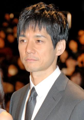 映画『ストロベリーナイト』の初日舞台あいさつに登壇した西島秀俊 (C)ORICON DD inc.