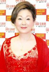 『第24回 日本ジュエリー ベストドレッサー賞』を受賞した由紀さおり (C)ORICON DD inc.