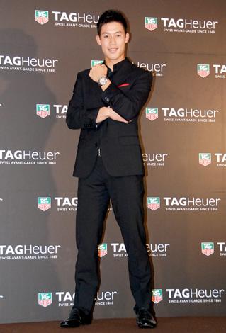 時計ブランド『タグ・ホイヤー』の日本限定モデル発表会にゲストとして出席した錦織圭選手 (C)ORICON DD inc.