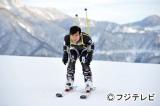 4月13日放送のスペシャルドラマ『リーガル・ハイ』でスキーを楽しむ古美門研介(堺雅人)