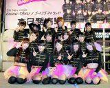 新宿ステーションスクエアで地方アイドル初のワンマンイベントを開催したLinQ(C)De-View
