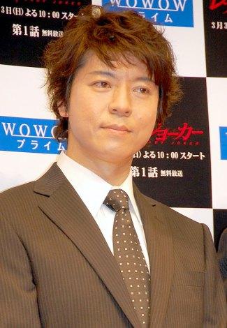 WOWOWの連続ドラマW『レディ・ジョーカー』の舞台挨拶に出席した上川隆也 (C)ORICON DD inc.