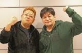 インタビューに応じたサンドウィッチマンの伊達みきお(左)と富澤たけし (C)ORICON DD inc.