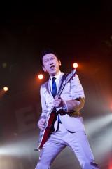 『EMI ROCKS SENDAI』に出演した布袋寅泰(写真・山本倫子)