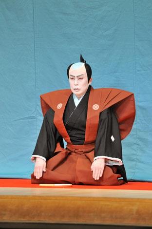幕開きの「口上」で息子・市川染五郎の舞台復帰の喜びを語った松本幸四郎