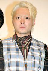 映画『らくごえいが』の完成披露試写会に出席した山田孝之 (C)ORICON DD inc.