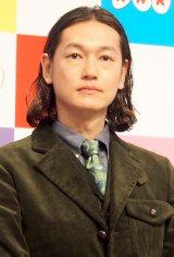NHKの新年度番組のキャスター発表会見に出席した井浦新 (C)ORICON DD inc.