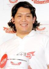 ドクターシーラボの新商品発売記念イベントに出席したCOWCOW・山田與志 (C)ORICON DD inc.