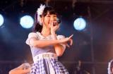 来年2月6日に自身が初主演するドラマ主題歌でソロデビューが決まったAKB48の柏木由紀(写真は11日=西武ドーム)(C)AKS