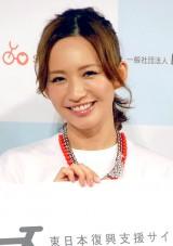 「CYCLE AID JAPAN 2013」発表会見に出席した優木まおみ (C)ORICON DD inc.