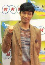 『リトル・チャロ4』の出演が決定したKENCHI(EXILE)=NHK語学番組レギュラー発表記者会見 (C)ORICON DD inc.
