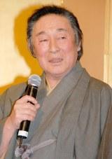 婚約報告会見を開いた尾上菊之助の父・尾上菊五郎 (C)ORICON DD inc.