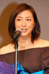 『ブルーリボン賞』助演女優賞を受賞した広末涼子 (C)ORICON DD inc.