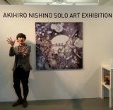 米ニューヨークのギャラリー「One Art Space」で絵本原画展『Akihiro Nishino Solo Art Exhibition』をスタートさせたキングコング西野亮廣