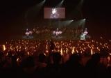 1 月5 日に福岡市民会館で全曲録音・撮影OK ライブを実施したLinQ