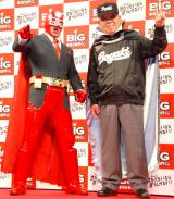 『BIG 2013年開幕記念イベント』に出席した(左から)高田純次、野村克也氏 (C)ORICON DD inc.