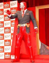 高田純次のBIGマン姿=『2013年スポーツ振興くじ販売開始』記者発表会 (C)ORICON DD inc.