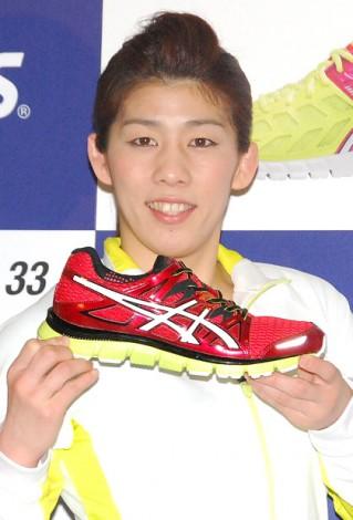 アシックス主催のトークイベントに出席した吉田沙保里選手 (C)ORICON DD inc.