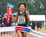 昨年の大会の模様。シニア女子は新谷仁美選手が優勝した(C)RKB