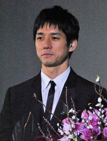 映画『メモリーズ・コーナー』の初日舞台あいさつに出席した西島秀俊 (C)ORICON DD inc.