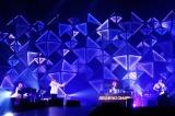初のアリーナツアー最終公演を東京・代々木第一体育館で行ったSEKAI NO OWARI(Photo by 上飯坂 一)