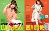 女性ファッション誌『CanCam』4月号の人気企画でモデルデビューした西川貴教ならぬOL西川貴子 撮影: Leslie Kee (super sonic) /(C)小学館