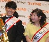 (左から)ピース・綾部祐二とアジアン・馬場園梓