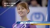 NTT西日本『フレッツ光』の新CMに出演する田中理恵選手