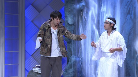 『笑・神・降・臨』最後の1組はロッチ。コント「無の境地」  (C)NHK