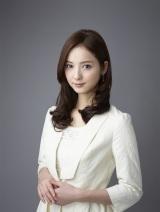 佐々木希が新ドラマ『お天気お姉さん』で初の女子アナ役に挑戦(C)テレビ朝日