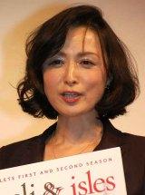 DVD『リゾーリ&アイルズ』リリース記念特別試写会に登場した国生さゆり (C)ORICON DD inc.