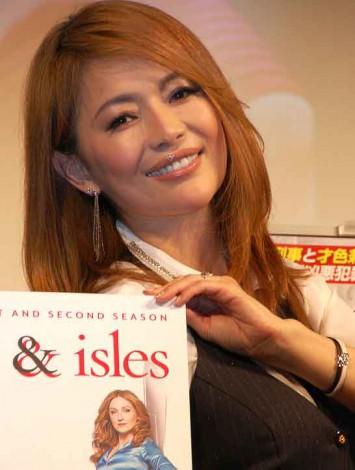 DVD『リゾーリ&アイルズ』リリース記念特別試写会に登場した青田典子 (C)ORICON DD inc.
