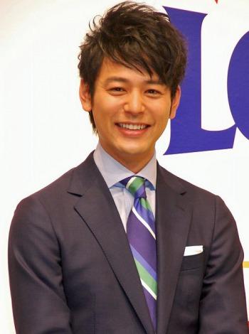 数字選択式宝くじ『ロト7』CM発表会に出席した妻夫木聡 (C)ORICON DD inc.