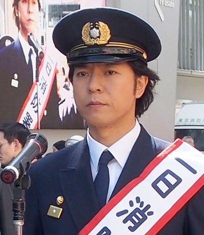 一日消防署長を務めた上川隆也 (C)ORICON DD inc.