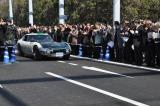 11日に行われた東京ゲートブリッジ開通式の車列パレードに登場した『2000GT SEV』