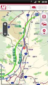 地図検索やルート検索機能が利用可能に