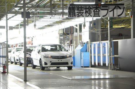 新型『カローラ』は、東北・宮城工場で生産される