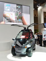 『CEATEC JAPAN 2012』に出展されたトヨタの『Smart INSECT』 (C)ORICON DD inc.