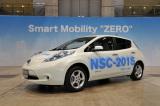 人が乗っていないのに駐車をする 日産のテストカー『NSC-2015』