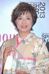 『HAIR COLORING AWARD 2013』タレント部門を受賞した榊原郁恵 (C)ORICON DD inc.