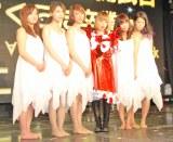 (左から)サムギョプサル和田、あやまん監督、ファンタジスタさくらだ、あいな、金玉澤 (C)ORICON DD inc.