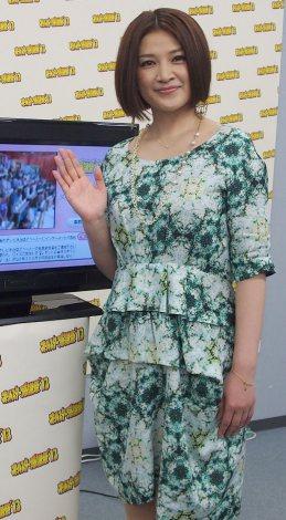 『オールスター感謝祭』(3月30日放送、後6:30)に向けて意気込みを語った島崎和歌子 (C)ORICON DD inc.