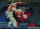 『機動戦士ガンダム』の人気キャラクター、シャアは専用ザクを高速で操り「赤い彗星」と呼ばれた