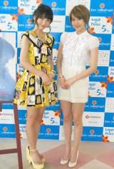 ORICON STYLEのインタビューに応じた(左から)大谷澪と花井瑠美 (C)ORICON DD inc.