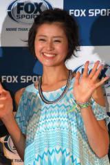 FOX SPORTS『FOUL BALL ARMOUR PROJCT』記者発表会に出席した鈴木ちなみ (C)ORICON DD inc.