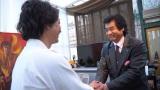 3月26日深夜に東海エリアローカルで放送された特番『ご公認』で憧れの藤岡弘、と対面したGたかし(C)メ〜テレ